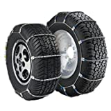 Security Chain Company TC2212MM Radial Chain LT Tire Chains for Select Light Trucks, Sold in Pairs
