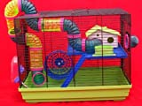 Fun4Pets Furry Life'S Happy World Hamster Cage