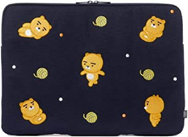Kakao Friends Daily Friends Ryan Pattern Laptop Pouch Briefcase (15