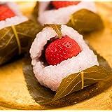 ホワイトデー プチギフト プレゼント ギフト スイーツ かわいい 和菓子 岐阜/いちご桜餅 10入 /