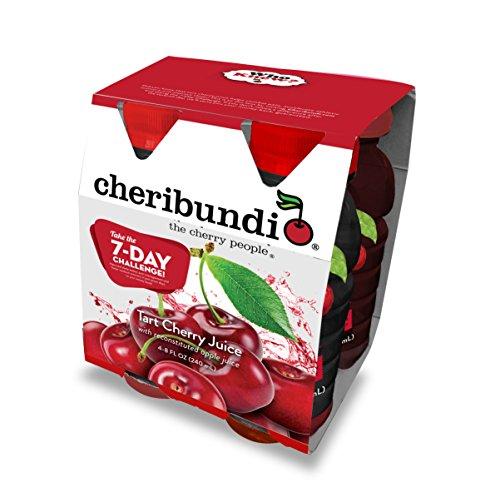 Cheribundi Tart Cherry Juice, 8 Ounce (Pack of 4) (8 Ounce Cherry)