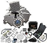 Zeda BT80 Bike Kit - 80cc Electric Start 2 Stroke Motorized Bicycle Engine Kit - E-Storm Edition
