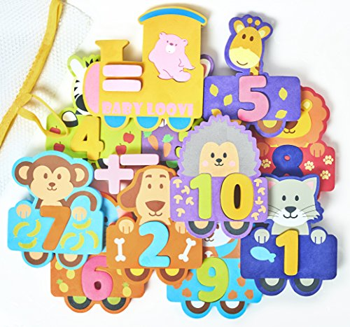 Educational Toddlers Puzzles Large Toys Bright Absolutely product image