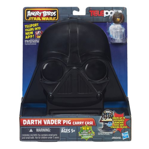 (Star Wars Angry Birds Telepods Darth Vader Pig Carry Case)