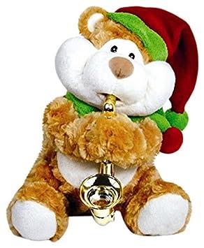 CUDDLE BARN Cuddle Granero ty-d2520 Navidad mejillas Jazz Reproduce Canciones de Navidad muñeca