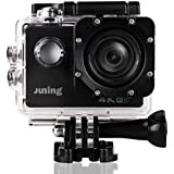 4K WIFI Sports Action Camera 16MP Full HD 1080P 2 Inch LCD Screen 170° Wide Angle Lens ...