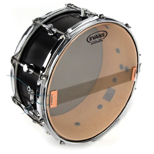 Evans Clear 500 Snare Side Drum Head, 14 Inch (Best Snare Drum Head For Rock)