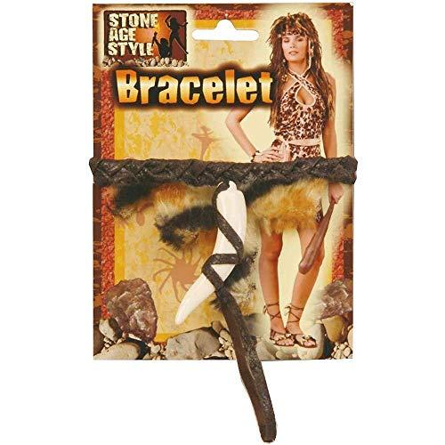 Stone Age Tooth Bracelet]()