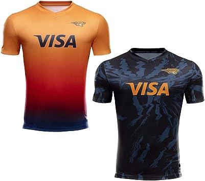 JUNBABY 2020 Jaguars Camiseta De Rugby, Nuevas Camisetas Deportivas, Camisetas Jaguar Rugby: Amazon.es: Deportes y aire libre