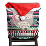 Owl Animal Christmas Chair Covers Cool Smooth Chair Covers For Christmas For Family Christmas Chair Back Covers Holiday Festive