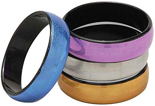 Forum Novelties Disco Bangle Bracelet Set