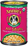 Annie's Homegrown Organic All Stars Pasta 15 oz (Pack of 24)