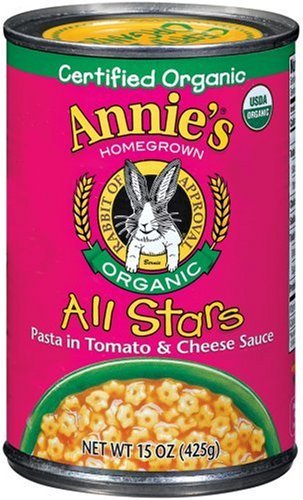 Annie's Homegrown Organic All Stars Pasta 15 oz (Pack of 24) by Annie's Homegrown