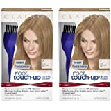 Clairol Nice 'n Easy Root Touch-Up 7 Matches Dark Blonde Shades 1 Kit, (Pack of 2)