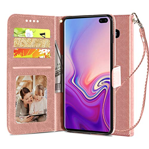 Samsung Galaxy S10 Plus/S10 + Wallet Case, Luxury...