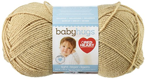 Red Heart Baby Hugs Light Yarn, Teddy Knitting Teddy