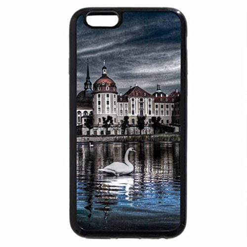 iPhone 6S / iPhone 6 Case (Black) Castillo Moritzburg