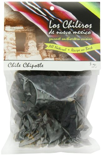 Los Chileros Whole Chile Chipotle, Dark Red, 3 Ounce