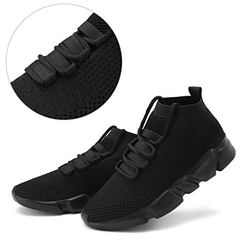 Pictures of Mevlzz Mens Casual Athletic Sneakers Knit Running Mevlzz0801 3