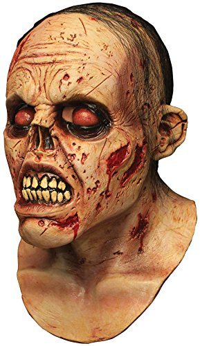 UHC Men's Horror Zombie Lurker Theme Party Latex Halloween Costume Mask (Alien Lurker)