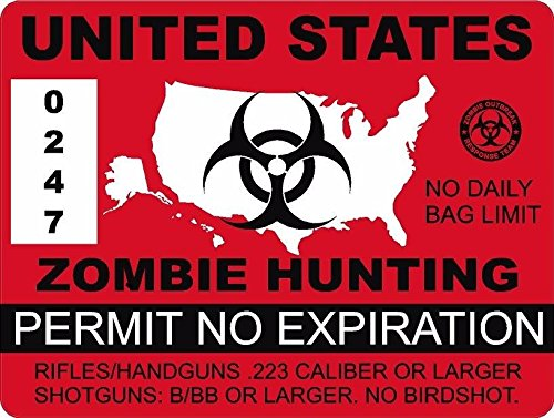 "Vinyl Overlays 720 1-4"" United States Zombie Hunting for sale  Delivered anywhere in USA"