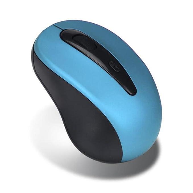 Ratón inalambrico Ratón de juego 2.4 GHz USB Óptico Sin cable Ajustable Juego de azar Voluta Ratones para Ordenador portátil Escritorio Cuaderno Tableta ...
