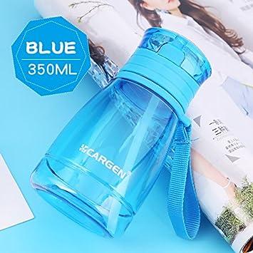 UPSTYLE Mini botella de agua de deporte para niños de plástico PC apto para alimentos con