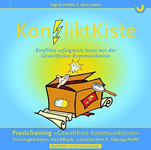 KonfliktKiste. Konflikte erfolgreich lösen mit der Gewaltfreien Kommunikation.: 95 Übungskarten, 21 Werkzeugkarten, Handbuch, Übungsheft