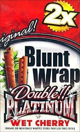 Double Platinum Wrap Wet Cherry Box by Double Platinum