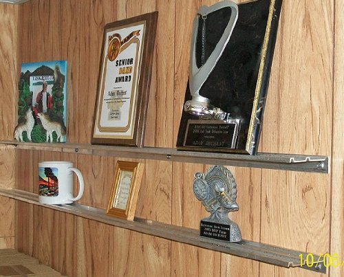 Review SHELVING AND STORAGE for Plaques, Trophies, Awards, & Pictures - By Dechant's Railroad Express by Dechant's Railroad Express