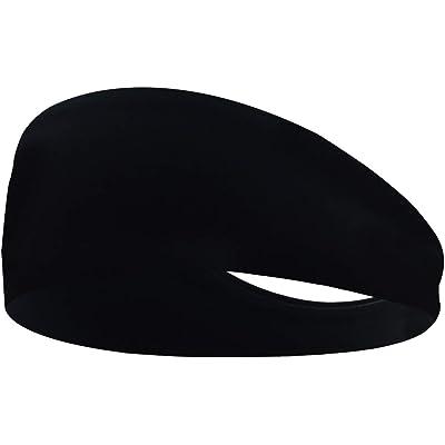 MRACSIY Diadema Deportes Banda para el sudor para Yoga Correr Ciclismo Baloncesto- Banda para el cabello elástica y absorbente para circunferencias de la cabeza 48-68CM