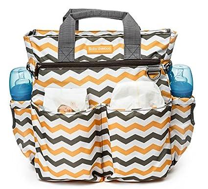Bolso cambiador, 10 bolsillos, perfecto para viajar con pañales, botellas, toallitas húmedas