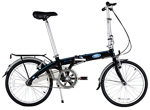 Buy Ford by Dahon Convertible Single Speed Folding Bicycle, 20″/38″, Black (online)