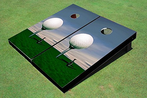 Big Golf Ball Cornhole Set, 1x4 (12