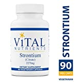 Vital Nutrients – Strontium (Citrate) 227 mg – Bone Support – 90 Capsules Review