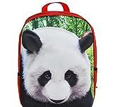 14'' 3D FOAM PANDA BACKPACK, Case of 6