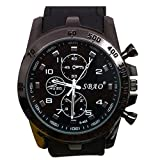 COOKI Men's Analog Sports Watch Military Wrist Quartz Watch Large Dual Dial Digital Outdoor Watches,Mens Watches on Sale Clearance