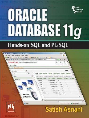 Oracle Database 11g: Hands-on SQL and PL/SQL Pdf