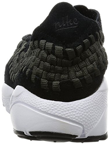 Nike Herren Air Footscape Woven NM Sneaker Schwarz (Black/Anthracite/White)