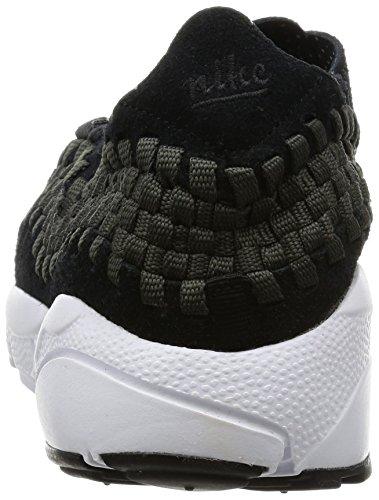 Nike Mens Air Footscape Geweven Nm Casual Schoen Zwart / Zwart-antraciet-wit