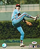 Steve Carlton Signed Photograph - 8x10 COA HOF - PSA/DNA Certified - Autographed MLB Photos