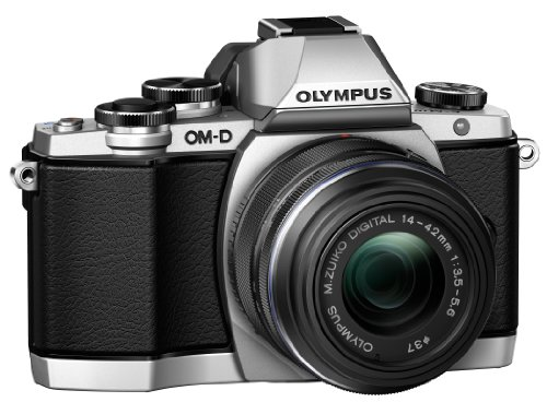 Olympus OM-D E-M10 Mirrorless Digital Camera with...