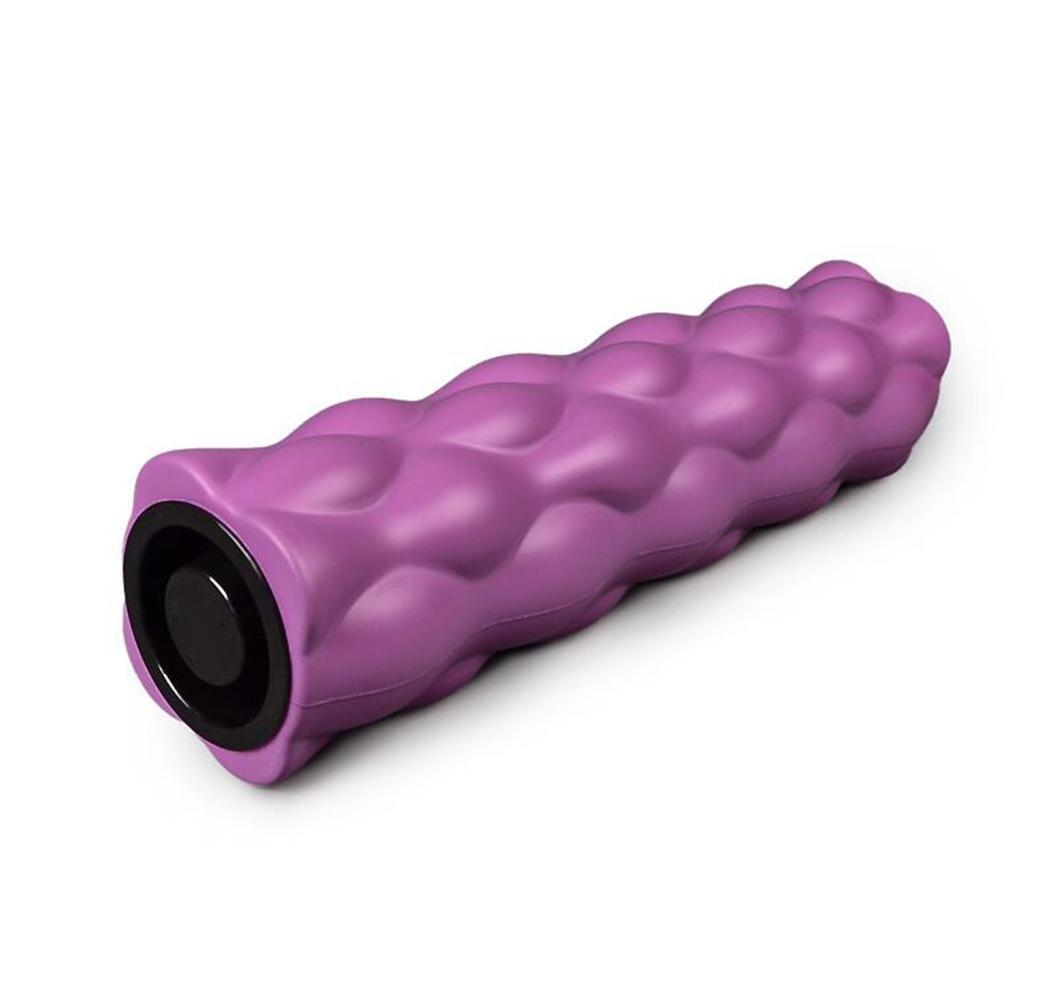 OOFWY Foam Rollers Physiotherapie Triggerpunkt Hip Roller Grid - Deep Tissue Strukturierter Foam Roller für Massage - Sportmedizin Ausrüstung Lindert Workout Schmerz, Cellulite, Milchsäure und Migräne