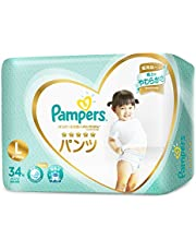 Pampers Premium Care Pants (Packaging may vary), Large, 34 ct,Suitable for 9-14 kg