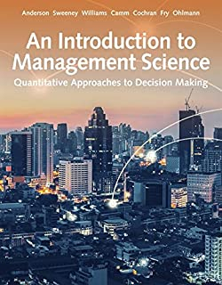 An introduction to management science quantitative approaches to an introduction to management science quantitative approach fandeluxe Gallery