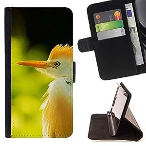 BullDog Case - FOR/LG G2 D800 / - / green grass summer sun bird tropical /- Monedero de cuero de la PU Llevar cubierta de la caja con el ID Credit Card Slots Flip funda de cuer