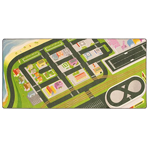 Airport Playmat - Mini Metropolis City Play Rug - 39