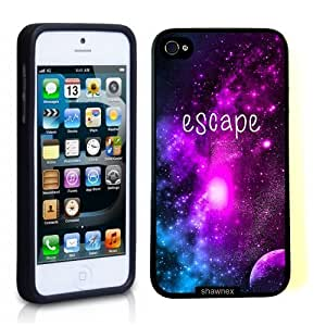 Case For HTC One M7 Cover Thinshell Case Protective Case For HTC One M7 Cover Escape Galaxy Hipster Quote