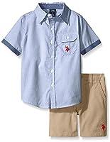 U.S. Polo Assn. Baby Boys' 2 Piece Pin S...