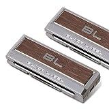 FOURING DA778 Platinum Seat Belt Clip (2EA) Wood Color